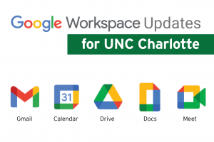 Google Updates for January 2021 | Office of OneIT | UNC Charlotte